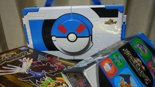 ポケモントレッタがたくさん トレッタケースも色々あった おもちゃのようなケースも toy of pocket monsters game