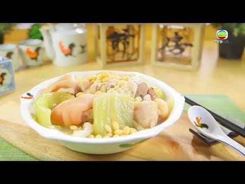 阿爺廚房食譜 - 鹹菜黃豆燜豬手