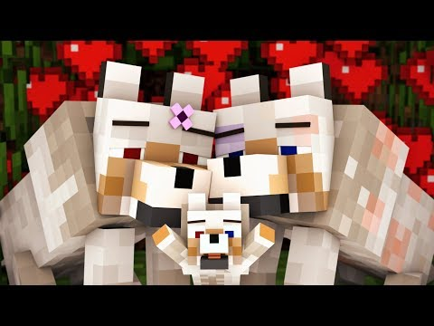 Wolf Life 1 - Minecraft Animation