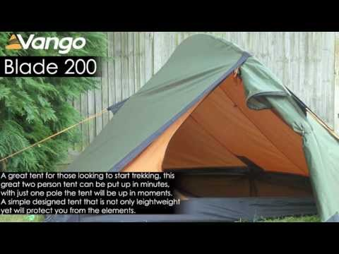 Vango Blade Pro 200 Person Tent Backpacking Camping