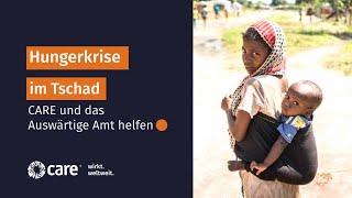 Hungerkrise im Tschad in Afrika - Spenden gegen den Hunger   CARE