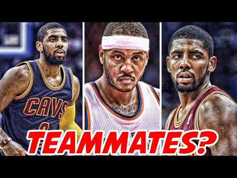 KYRIE IRVING AND CARMELO ANTHONY HAVE GREAT CHEMISTRY!? | NBA NEWS