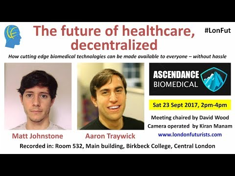 The future of healthcare, decentralized