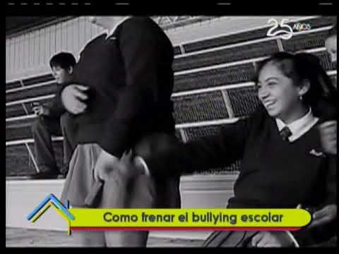 Como frenar el bullying escolar