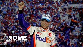 Denny Hamlin Talks Ryan Newman Crash And Winning Daytona 500 | The Jim Rome Show