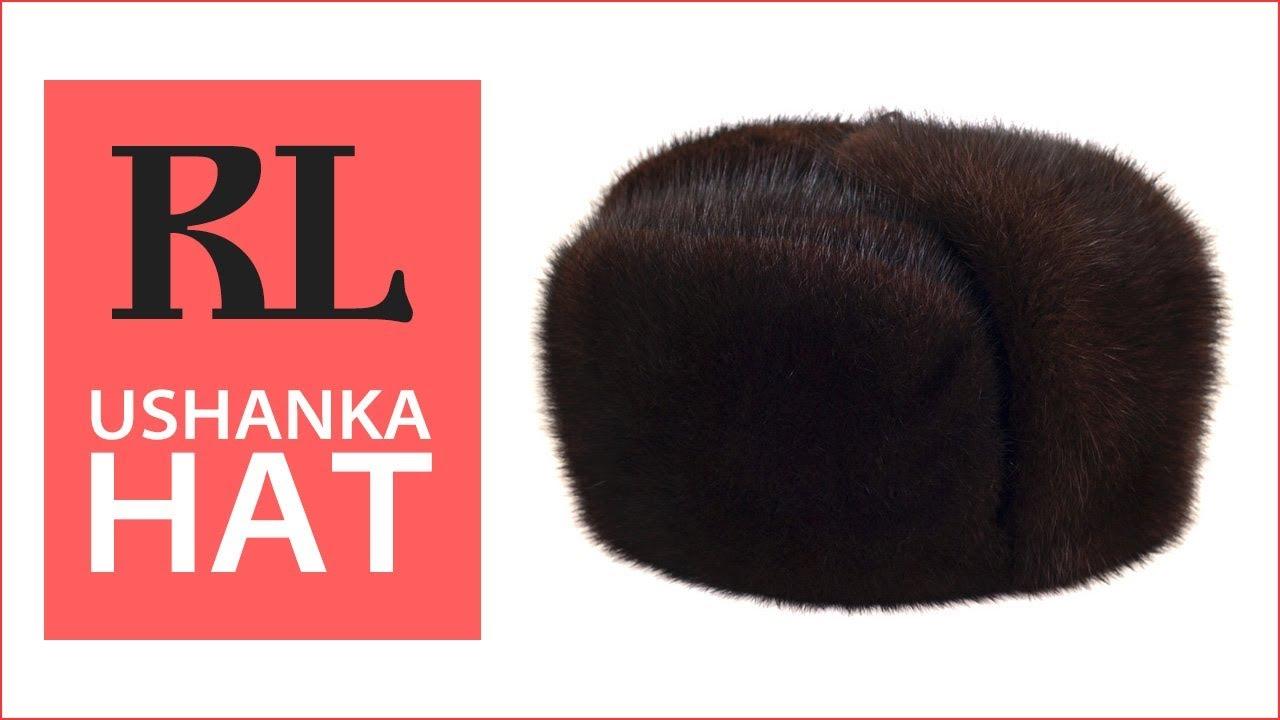 e7bb3d32654 Muskrat Fur Winter Trapper Hat - YouTube