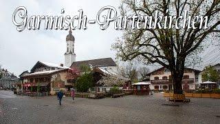 видео Гармиш-Партенкирхен. Бавария. Германия