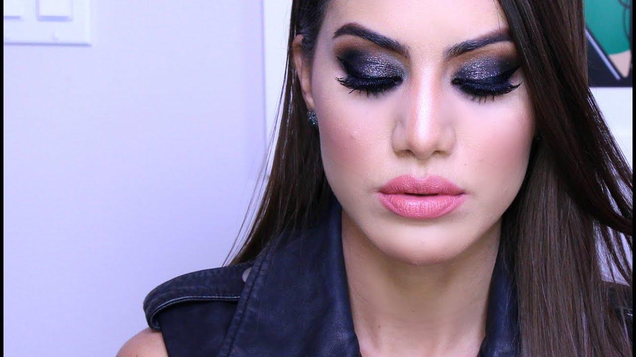 """Rocker"" Smokey Eye using DRUGSTORE Makeup   Makeup Tutorials and Beauty Reviews   Camila Coelho"
