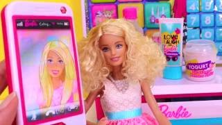 Barbie girl doll fun learning names of food in english for k