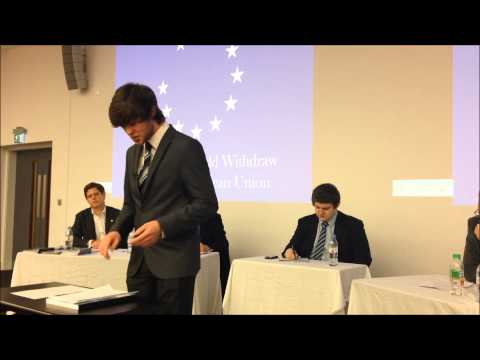 Lancaster Debating Union: This House Would Withdraw From The European Union