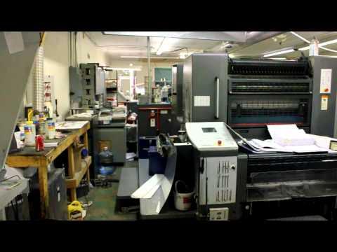 Print Shop Tour