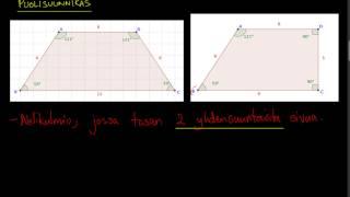 Geometria: suunnikas ja puolisuunnikas
