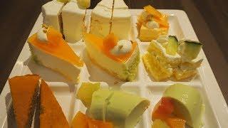 【ケーキ食べ放題】一流ホテルのケーキビュッフェ!【池袋サンシャインシティプリンスホテル シェフズパレット 】メロンケーキが美味しい!東京・池袋