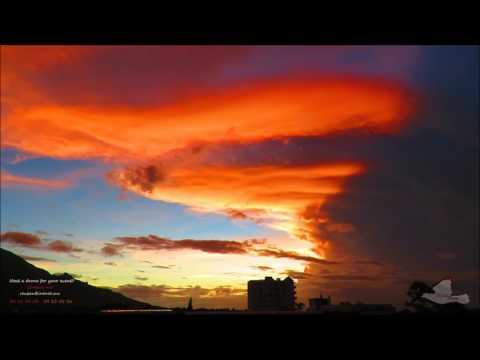 2017-03-03 - PreCyclonic Sunset - Rose Hill Mauritius.