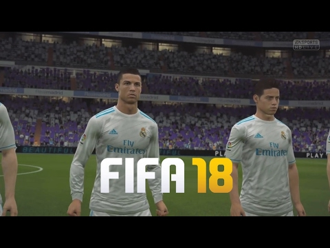 Fifa 18 gameplay real madrid hd youtube for Esterno fifa 18