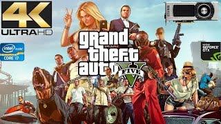 GTA V PC Gameplay - Nvidia GTX 980 - Intel i7 3770 - 3840x2400 - 4K