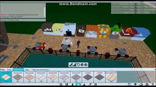 This is like a real game: roblox RCT 2