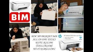 Bim' HP DeskJet 2620 All-In-One Wİ-Fİ YAZICI KUTU AÇILIMI / YAZICI ÖZELLİKLERİ VE WİFİ KURULUMU