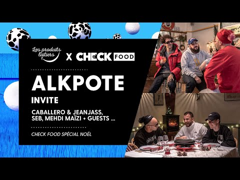 Youtube: Alkpote, Caballero & JeanJass, Seb et Mehdi Maïzi + guests #CheckFood