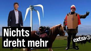 Nichts dreht mehr: Flaute für die Windkraft
