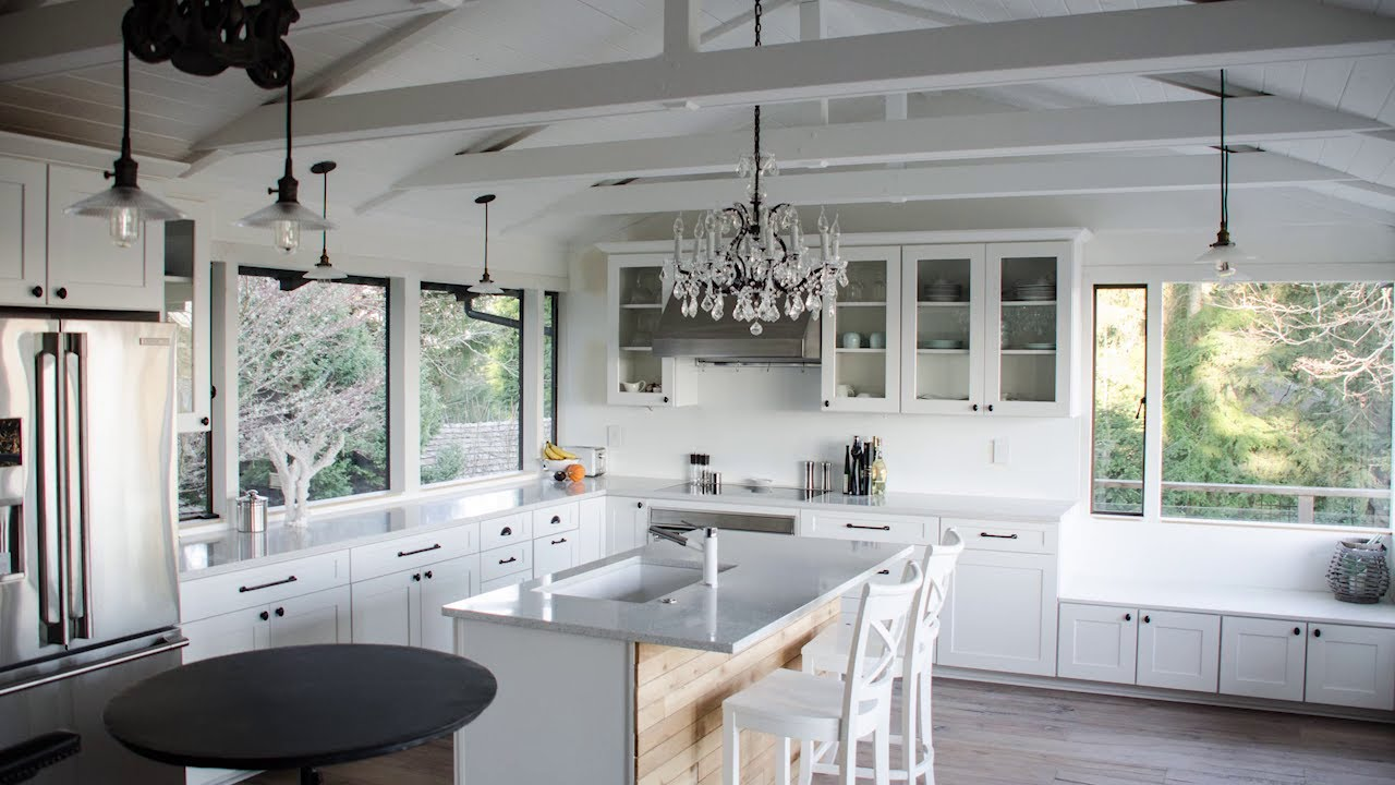 Before And After This Renovated Ranch Kitchen Beautifully Blends Rustic With Modern: Amazing Kitchen Renovation