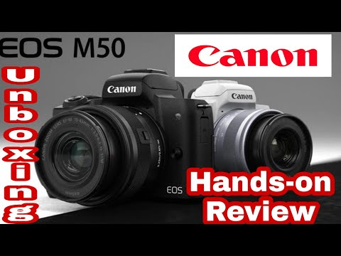 Canon M50: Best Mirrorless Camera Unboxing & Hands on Review