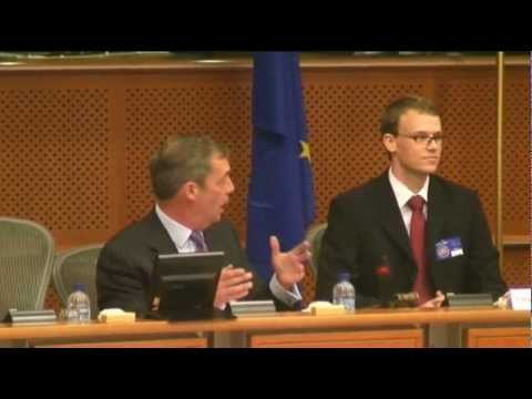 Preparing for Euro Breakup - conference intro & Q. by Nigel Farage