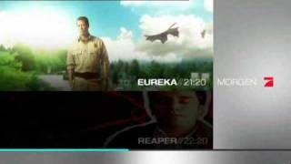 Eureka Season 3 / Reaper 1. 11 Trailer  (German )