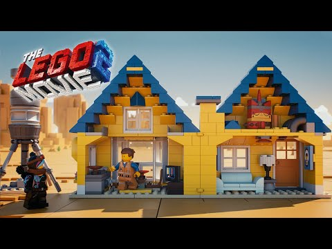 Emmet's Dream House / Rescue Rocket! - THE LEGO MOVIE 2 - 70831 Product Animation