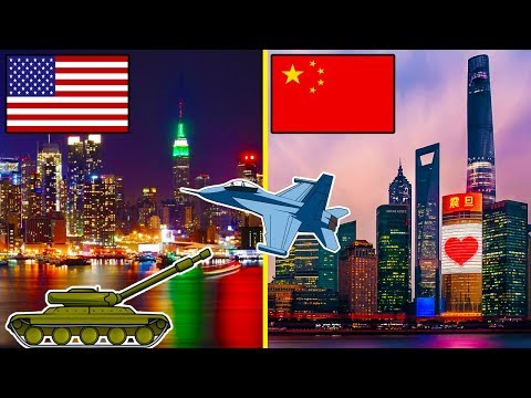 USA vs China || Who is the current SUPERPOWER? (2018)