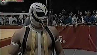 Rey Mysterio Jr & Sr vs Fuerza & Juventud Guerrera  AAA 1995 thumbnail