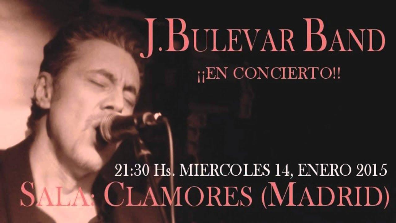 J Bulevar Band En Concierto Sala Clamores Madrid