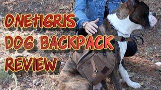 OneTigris Dog Backpack Review