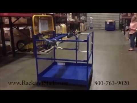 Forklift Work Platform - 800-763-9020