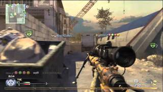 HD - Mw2 Quick Scope SnD 12-1 w/ Commentary ::: HC xTHUNDERx