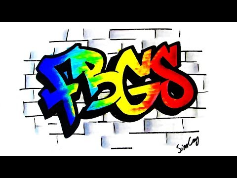 Adım Adım Graffiti Nasıl Yapılır?(kendin Yap)