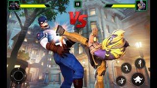 Infinity Superheroes Vs Immortal Gods Karate Game | Captain Hero Street Fight - Android GamePlay