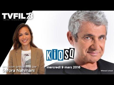 Kiosq – Emission du mercredi 16 mars 2016