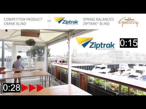 Ziptrak PVC Outdoor Blinds - The Blinds Gallery, Perth