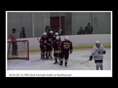 Northwood School vs OHA Gold (Ashley Davis #30)