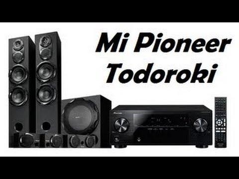 Pioneer Todoroki S RS77TB, VSX 821 K, S RS3SW Unboxing