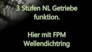 Saxonette 3 Stufen NL Getriebe