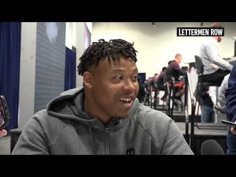 Ohio State: Offensive lineman Michael Jordan talks at NFL Combine