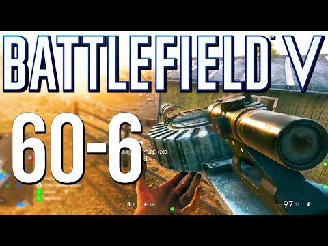 Battlefield 5: 60-6 Lewis is a Beast! (PS4 Pro Multiplayer Gameplay)