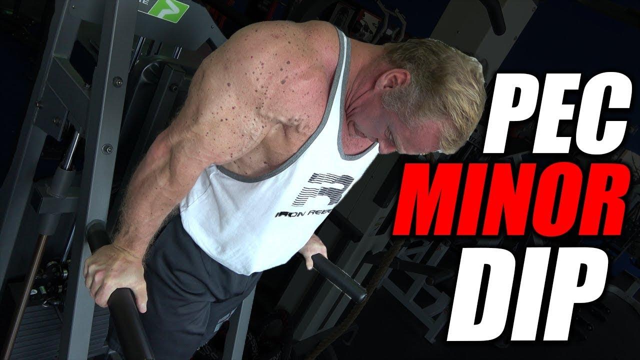 Exercise Index - Pec Minor Dip | Chest Exercise - YouTube