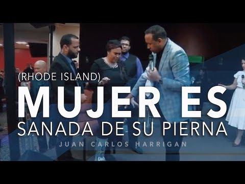Dos años sin poder caminar (Rhode Island) - Pastor Juan Carlos Harrigan
