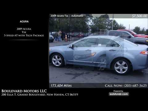 Used 2009 Acura Tsx Boulevard Motors Llc New Haven Ct