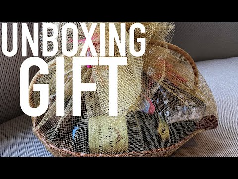 Unboxing a Gift!