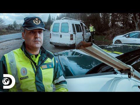Conductor pone en riesgo vida de pasajeros | Control de Carr
