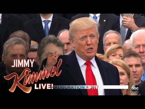 Thumbnail: Jimmy Kimmel on Donald Trump's Inauguration
